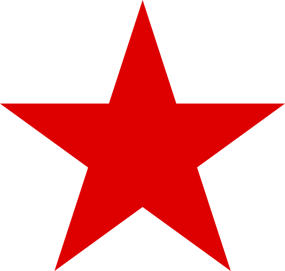 File:Red star.svg - Wikimedia Commons