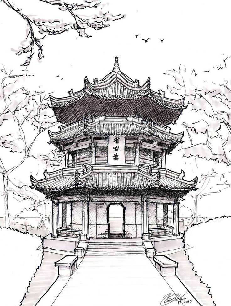 the evolution of pagodas in china and japan A pagoda is a tiered tower with multiple eaves, built in traditions originating in historic east asia or with respect to those traditions, common to nepal, india, china.