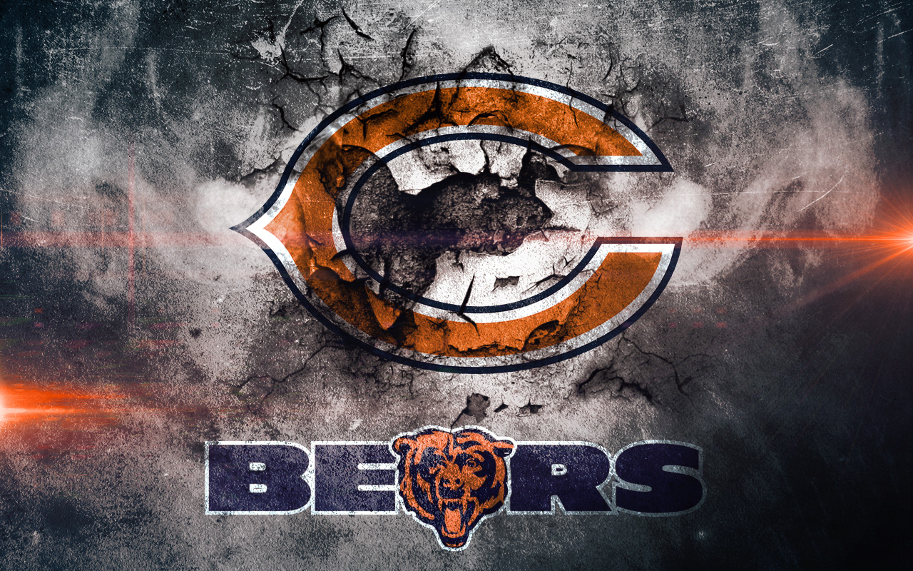 Best Chicago Bears Logo Wallpaper » HD Wallpapersans.Com
