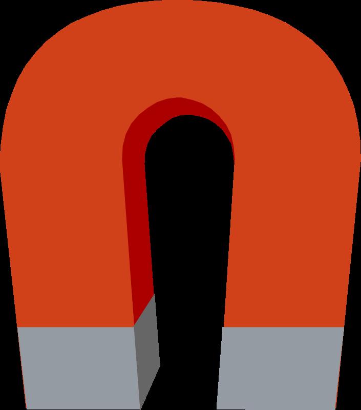 Horseshoe Magnet vector clip art download free - Clipart ...