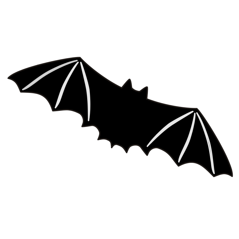 Bat Scary Clip Art Download