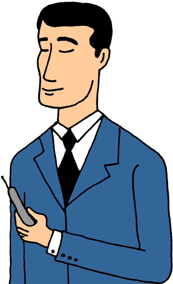 Clipart Man On Arrow