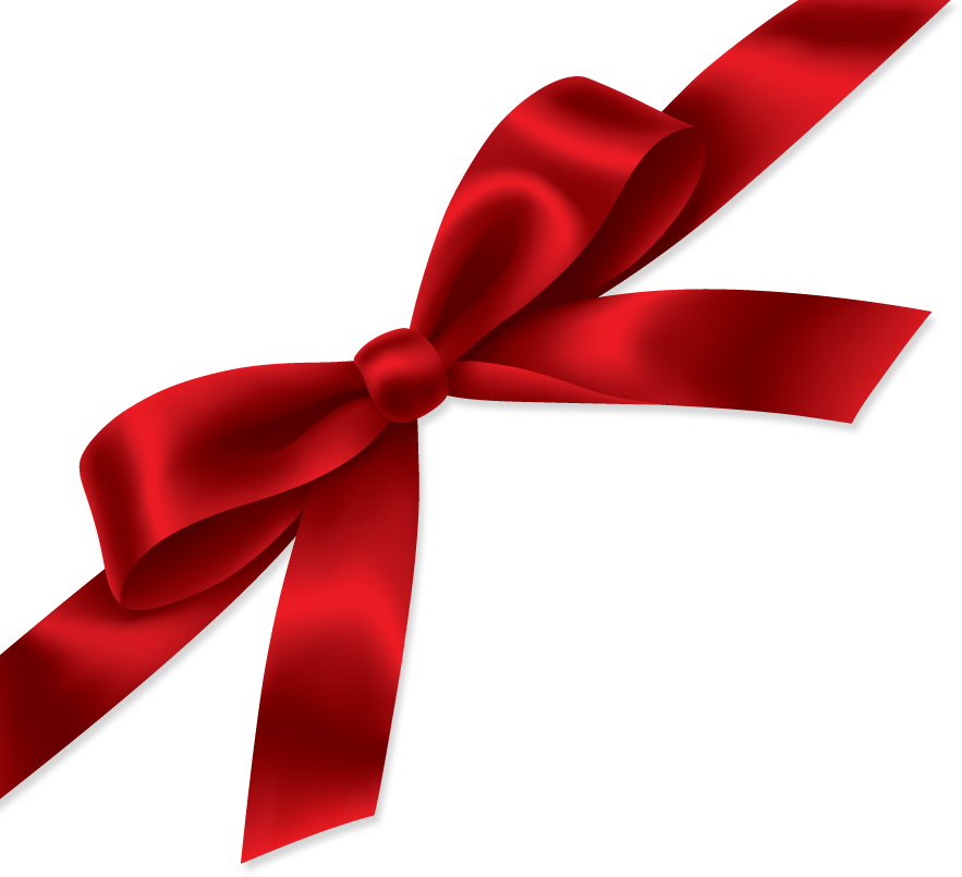 Ribbon PNG images, red gift ribbon, free download pictures