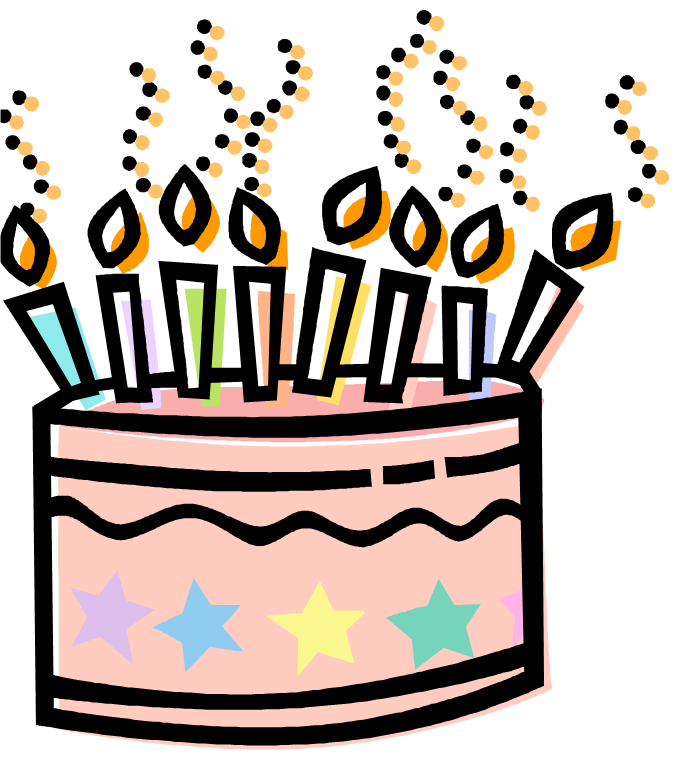 Happy Birthday Cake Clipart