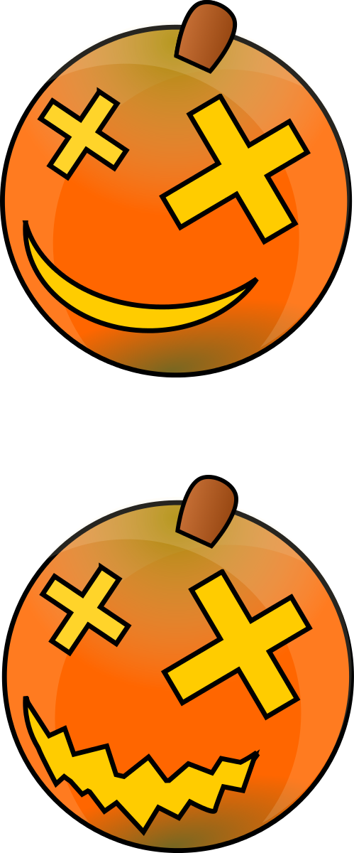 Halloween - Pumpkins Clipart by DCook : Halloween Cliparts #11081 ...