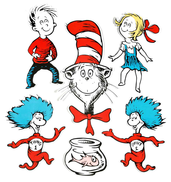 free clipart cat in the hat - photo #37