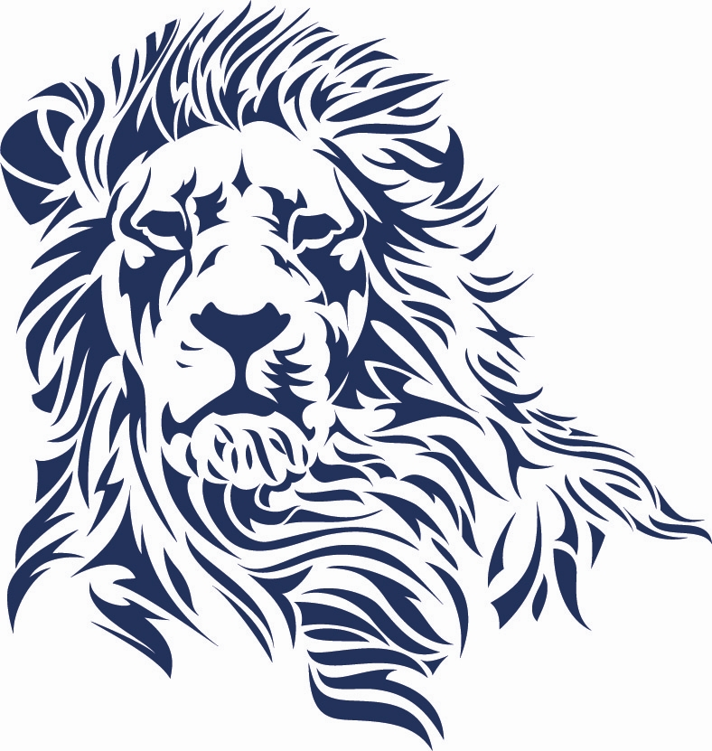 Roaring Lion Outline Tattoo - Cliparts.co