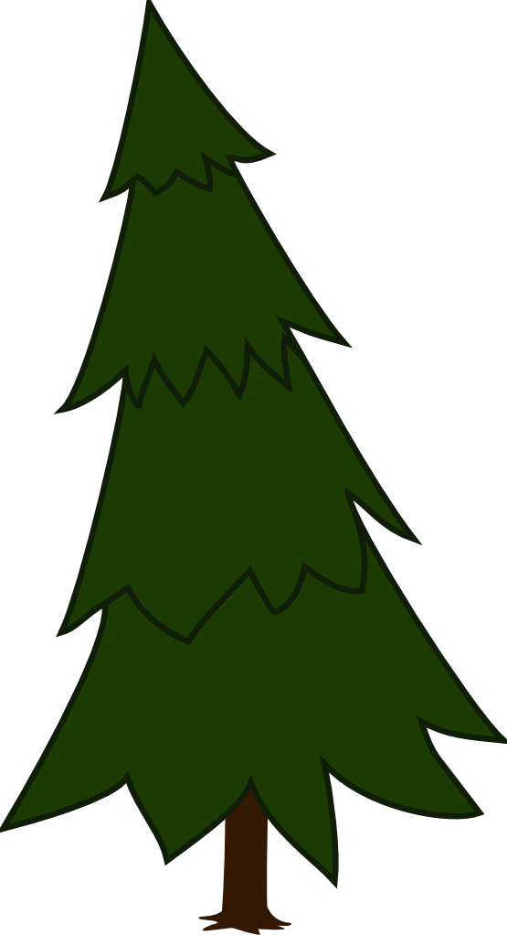 Pine Tree Silhouette Clip Art Cliparts Co