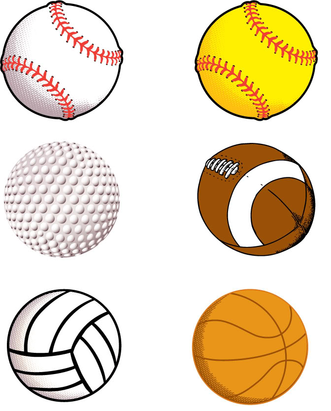 clipart sport balls - photo #50