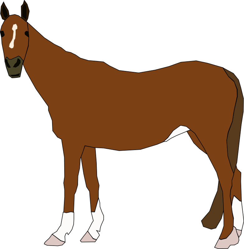 clip art dressage horse - photo #7