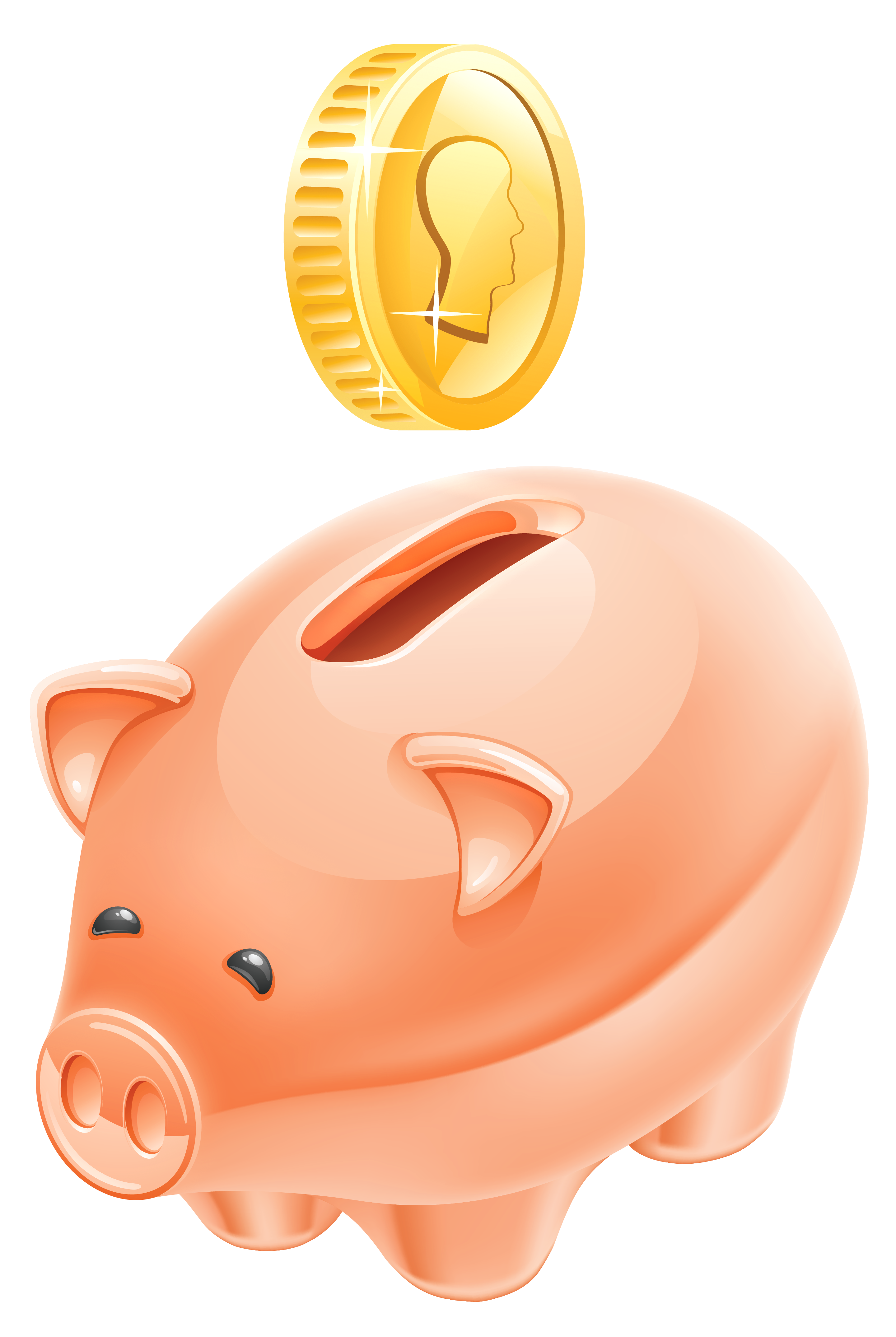 Picture Of Piggy Bank - Cliparts.co