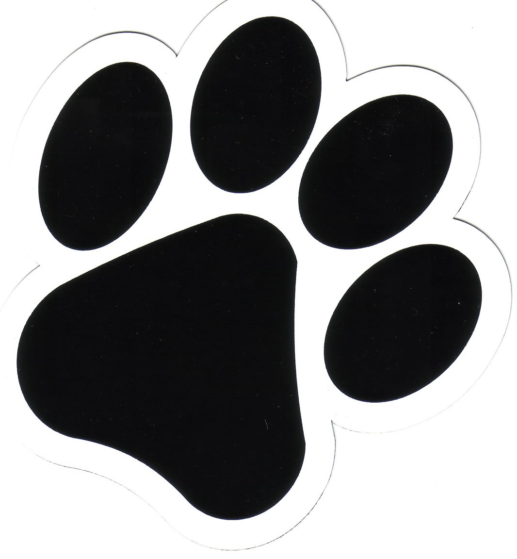 Free Dog Paw Print Clip Art - Cliparts.co