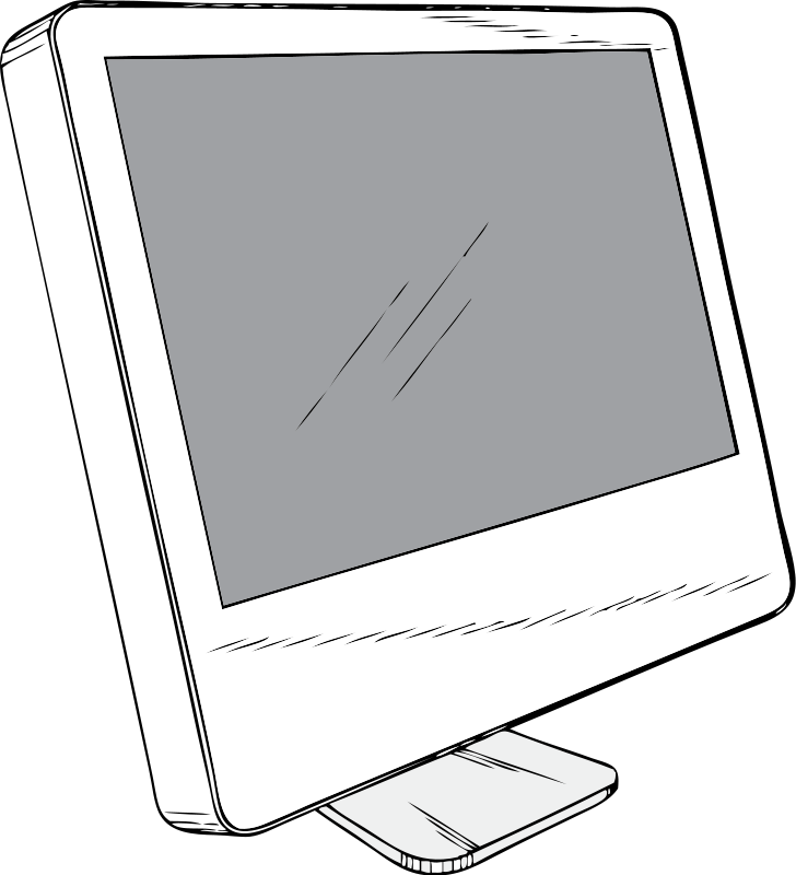 laptop screen clipart - photo #41
