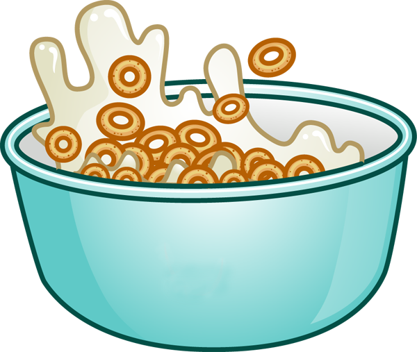 cereal bowl clipart rh worldartsme com Bowl with Milk in It cereal bowl clipart