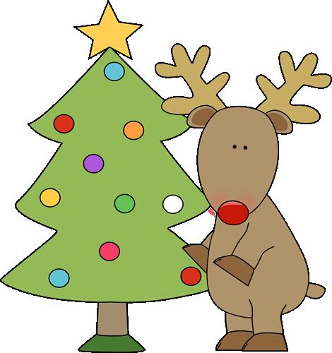 Christmas Reindeer Clip Art - Cliparts.co