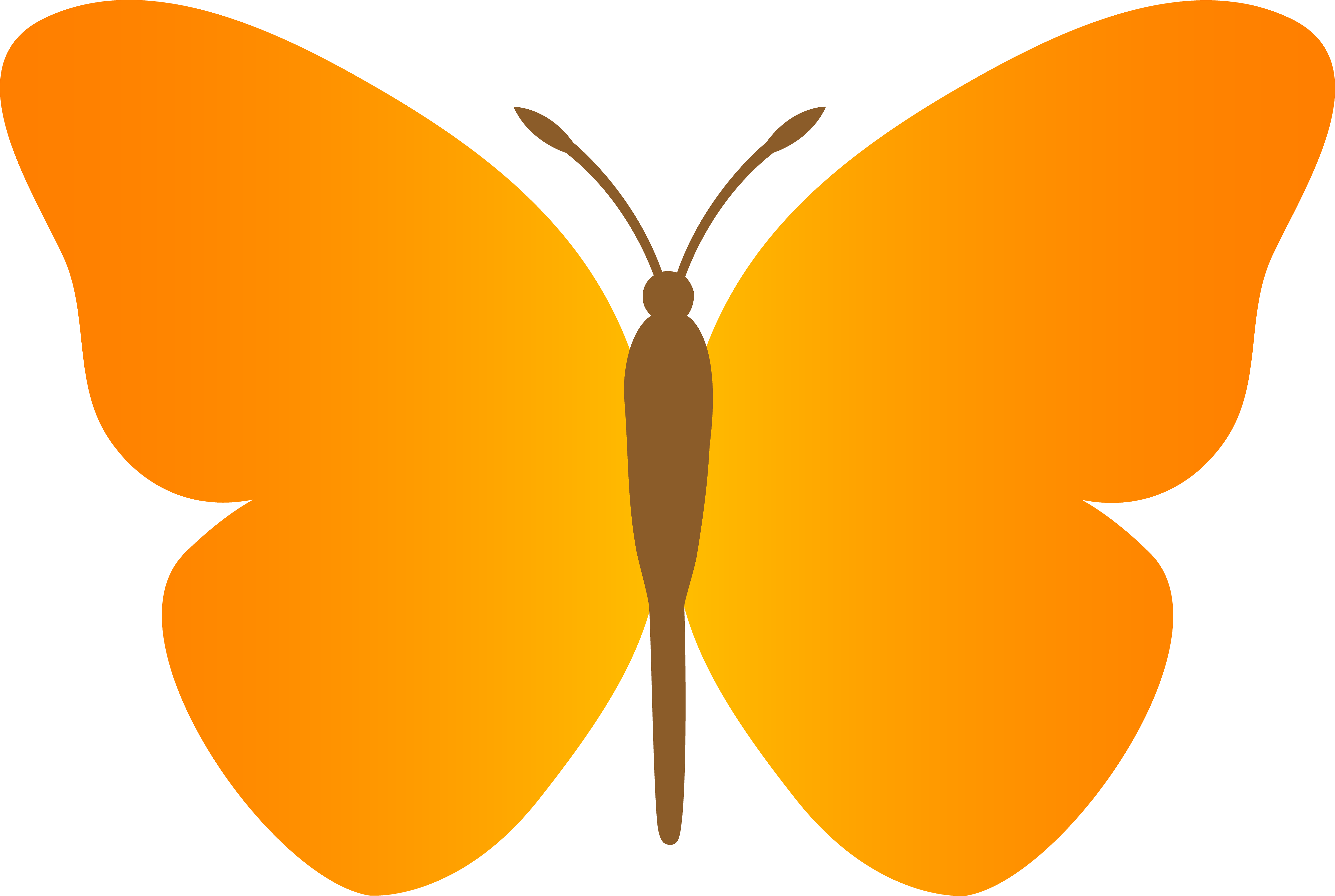 Clipart Butterfly Outline | Clipart Panda - Free Clipart Images