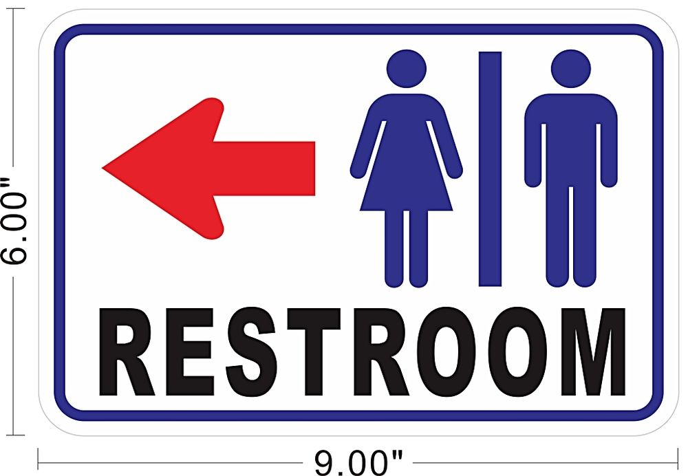 Restroom Sign Images Cliparts Co
