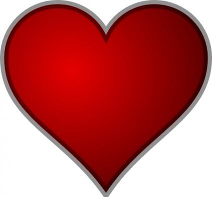 Heart Clip Art-vector Clip Art-free Vector Free Download