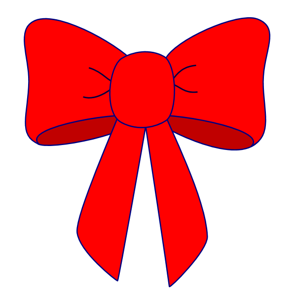 Red Bow Images - Cliparts.co