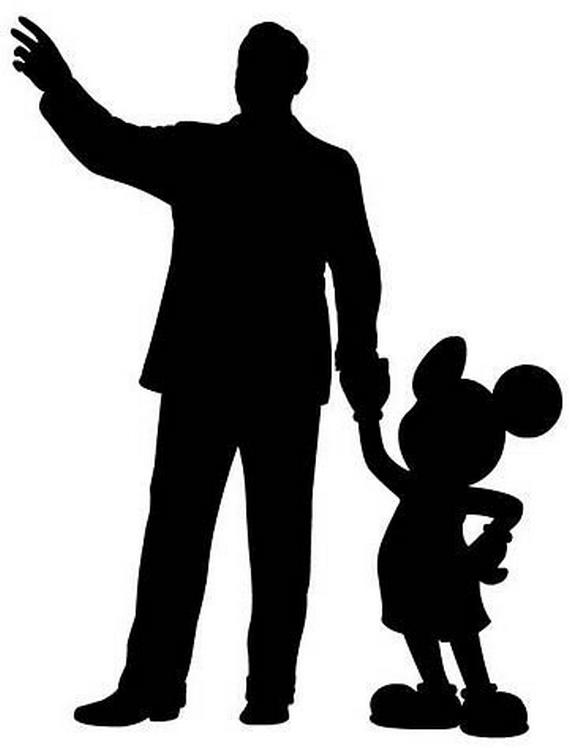 Mickey Silhouette Clip Art - Cliparts.co