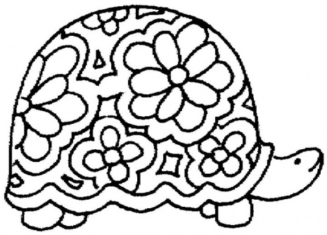 Turtle Coloring Pages | 101ColoringPages.