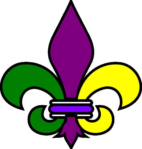 New Orleans Fleur De Lis clip art - vector clip art online ...
