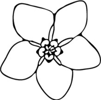 Forget Me Not Flower Clip Art - Cliparts.co