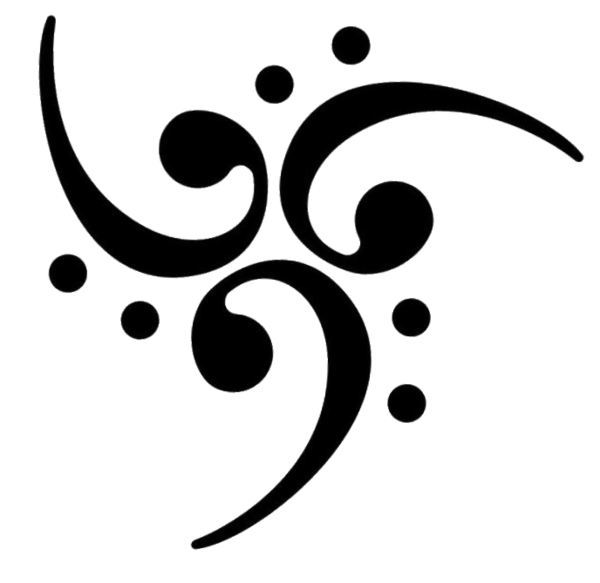 Bass Clef Art - Cliparts.co