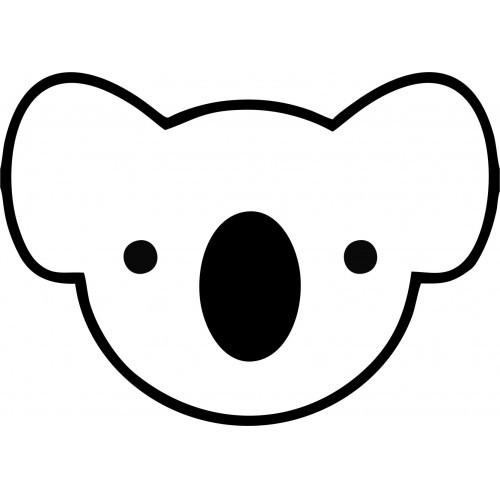 Koala Outline - Cliparts.co
