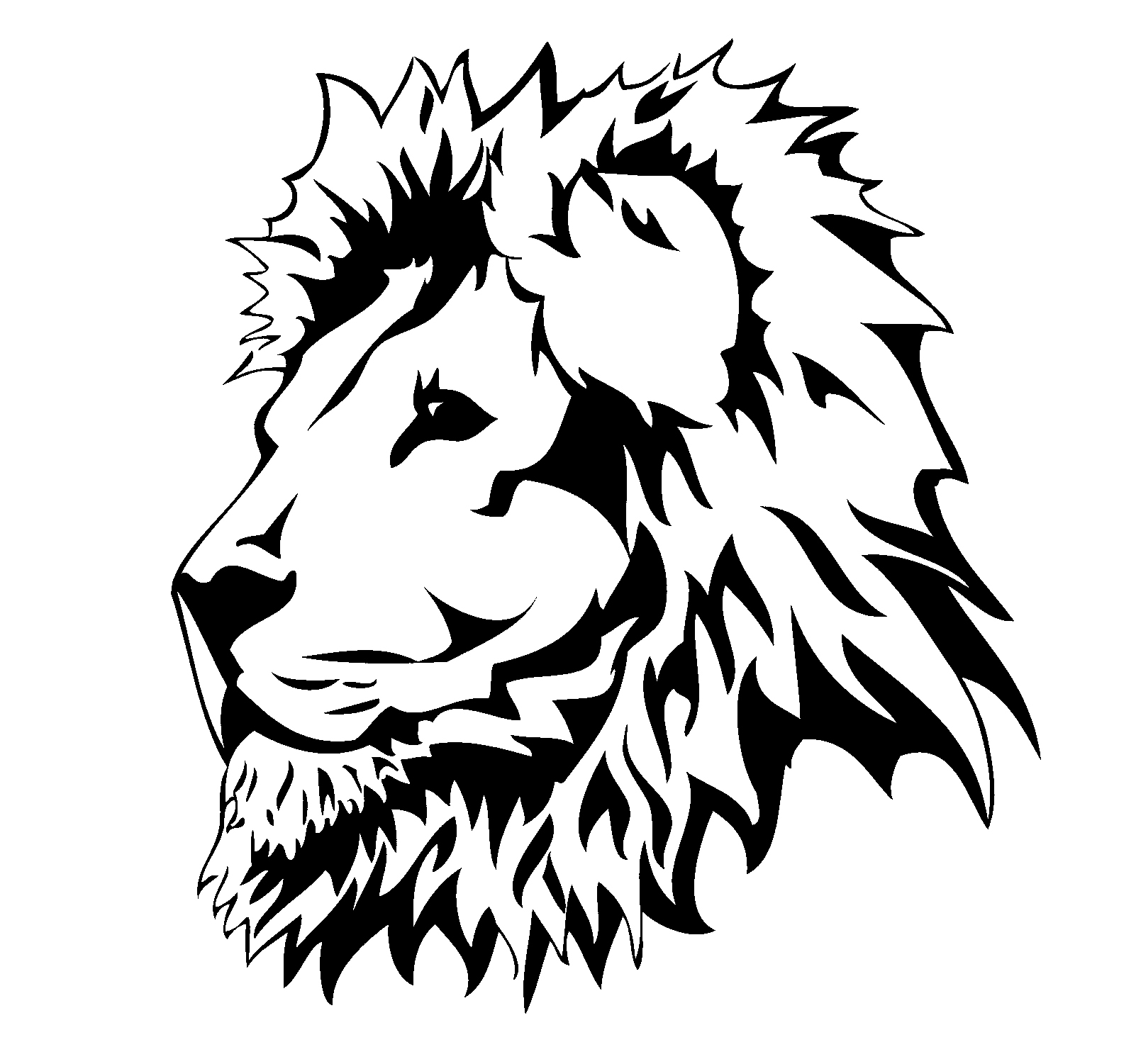 Lion Head Clip Art - Cliparts.co