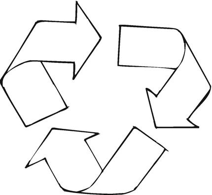 Recycling Symbol Printable