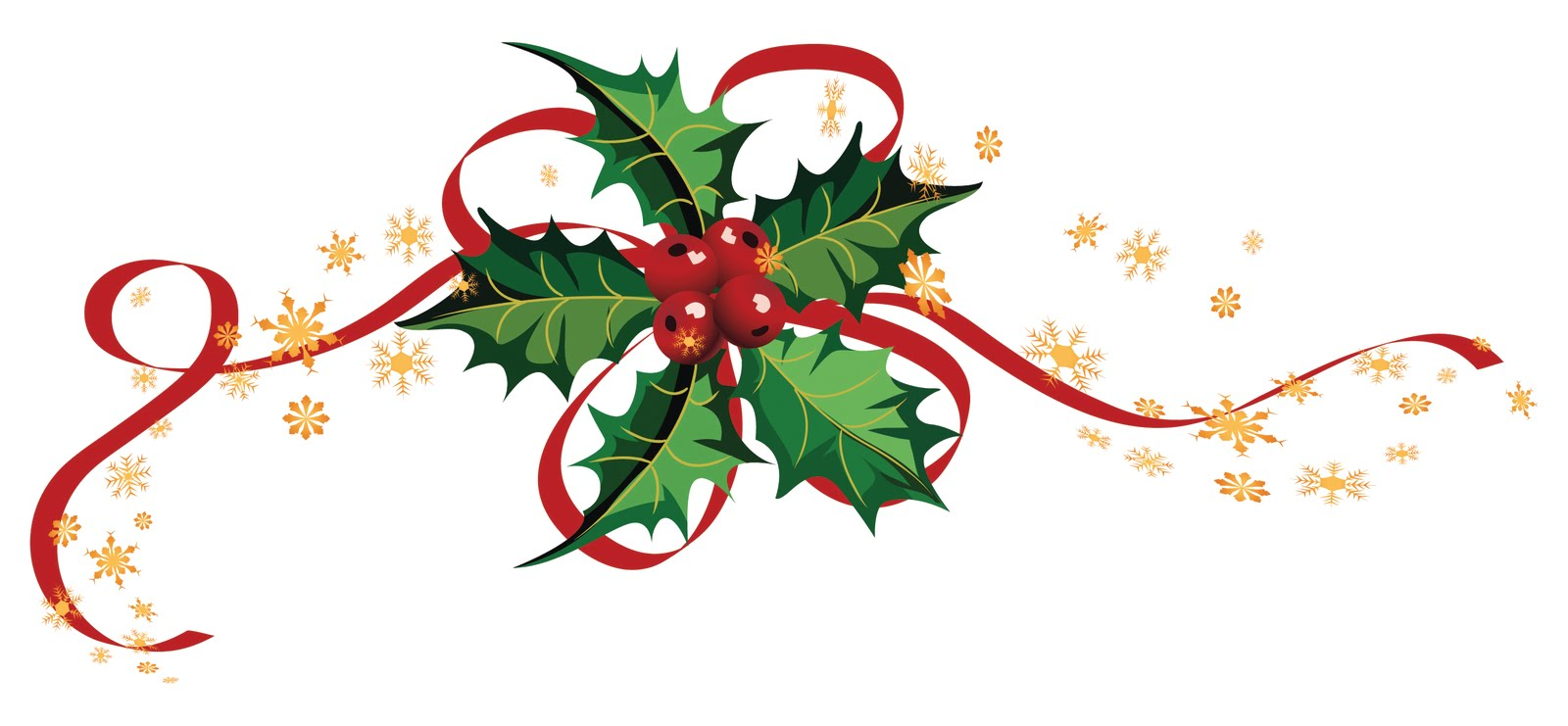 Christmas ribbon clip art cliparts