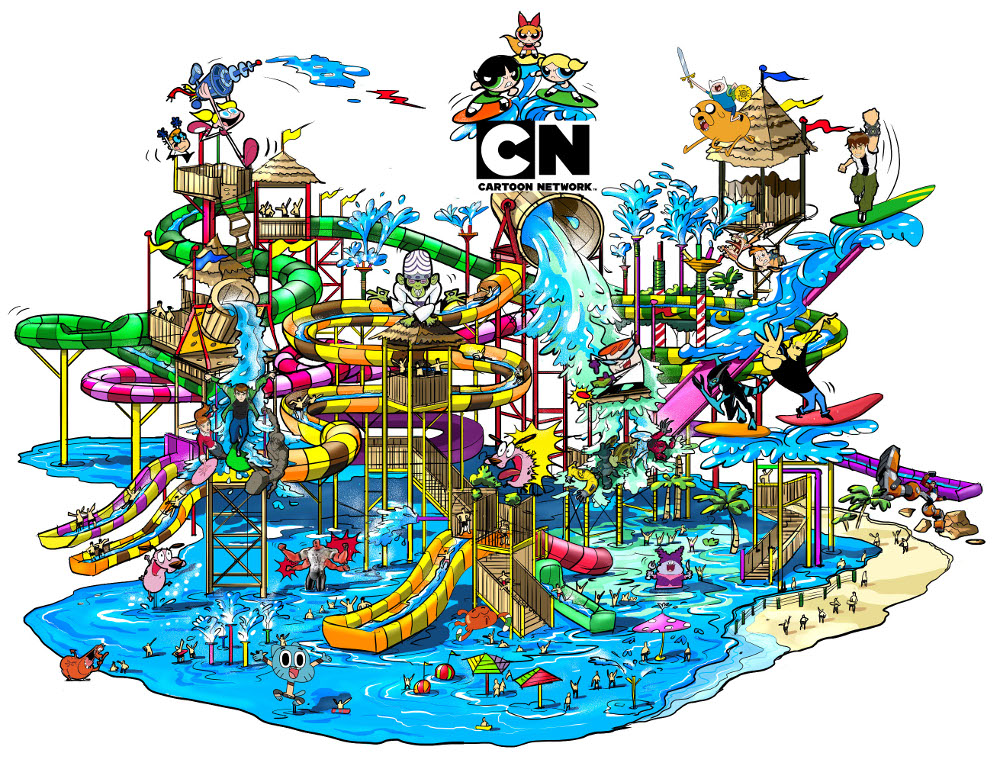 Cartoon Network AMAZONE Theme Park to Open in Thailand | Lipstiq ...
