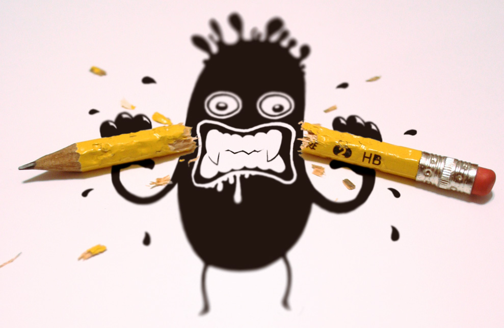 Frustrated Cartoon Face - Cliparts.co