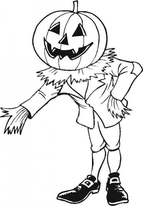 scary monster coloring pages | Scary Monster Coloring Pages - Cliparts.co
