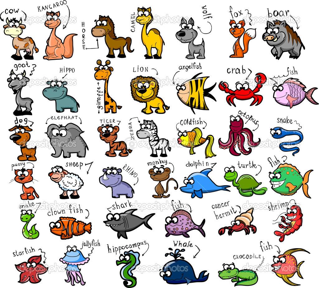 animals clipart pdf - photo #35