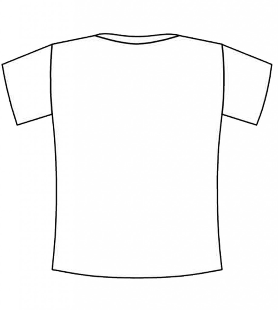 Blank t shirt for Blank t shirt design template
