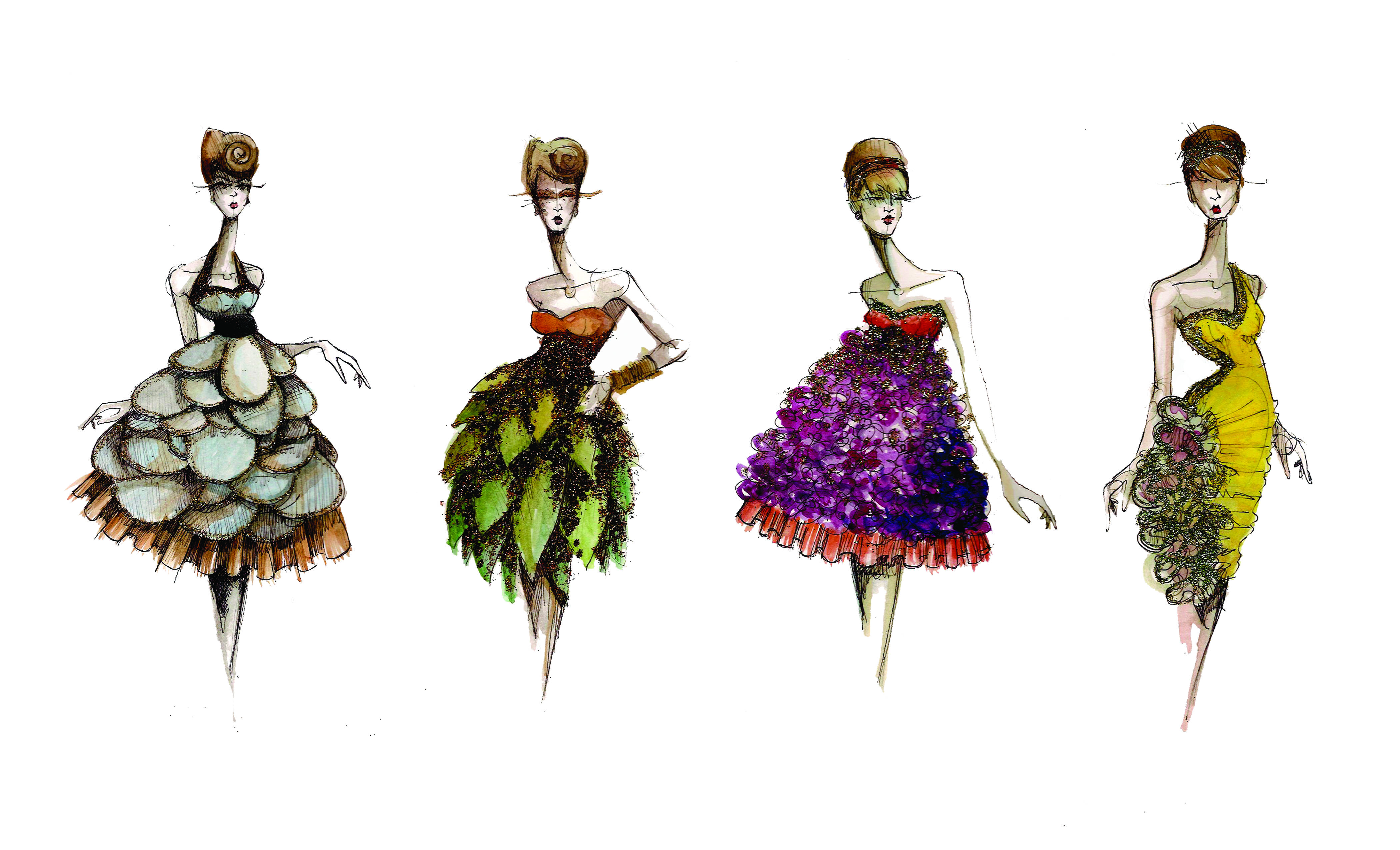high fashion illustration | Paper Fashion | Page 2