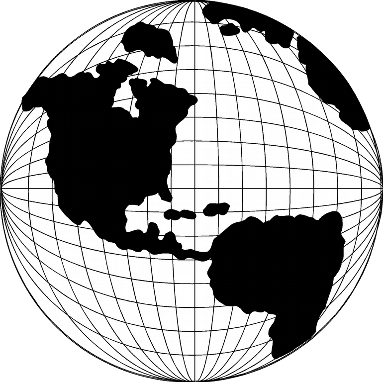 Line Drawing Globe : Globe clip art free cliparts