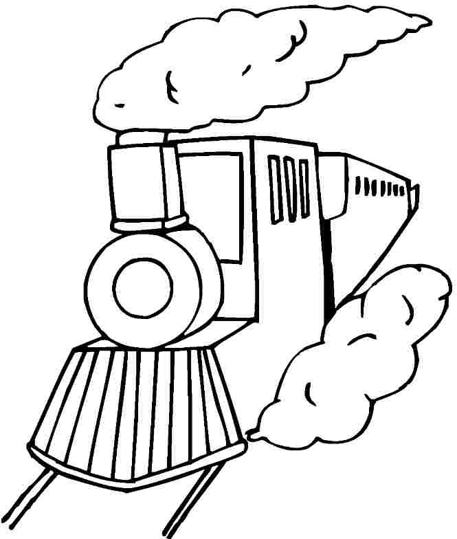 railroad tracks coloring pages | Railroad Tracks Coloring Pages Coloring Pages