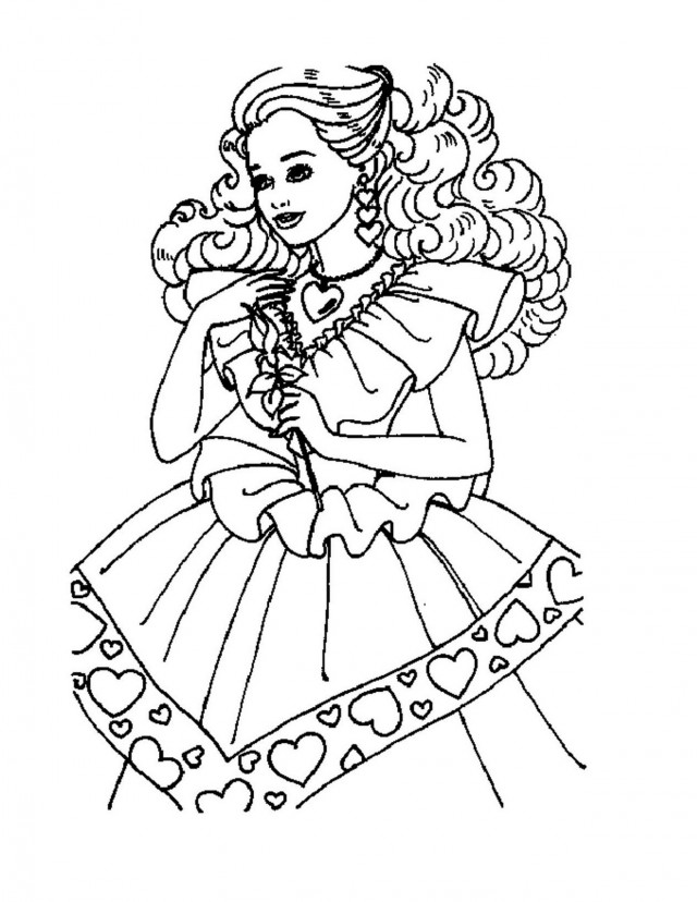 Barbie Coloring Pages On Computer : Pictures of a bride cliparts