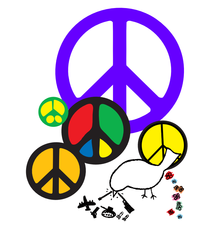 free christmas peace on earth clipart - photo #28