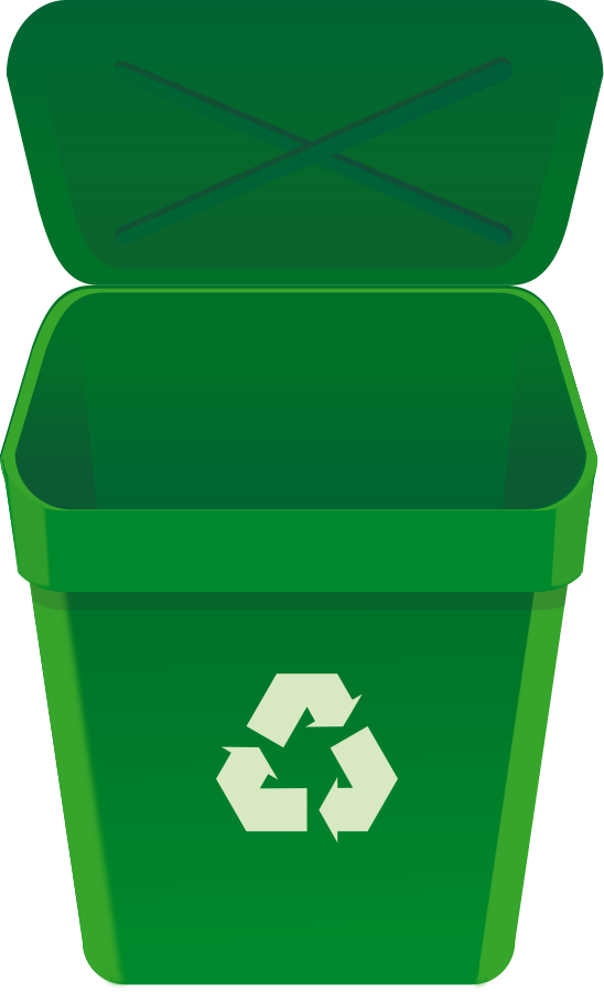 Recycle can Clipart, vector clip art online, royalty free design ...