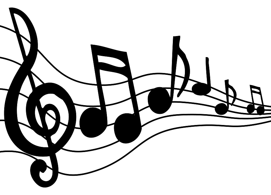 note cliparts notes clip graphics musical jazz blues drawings song cute