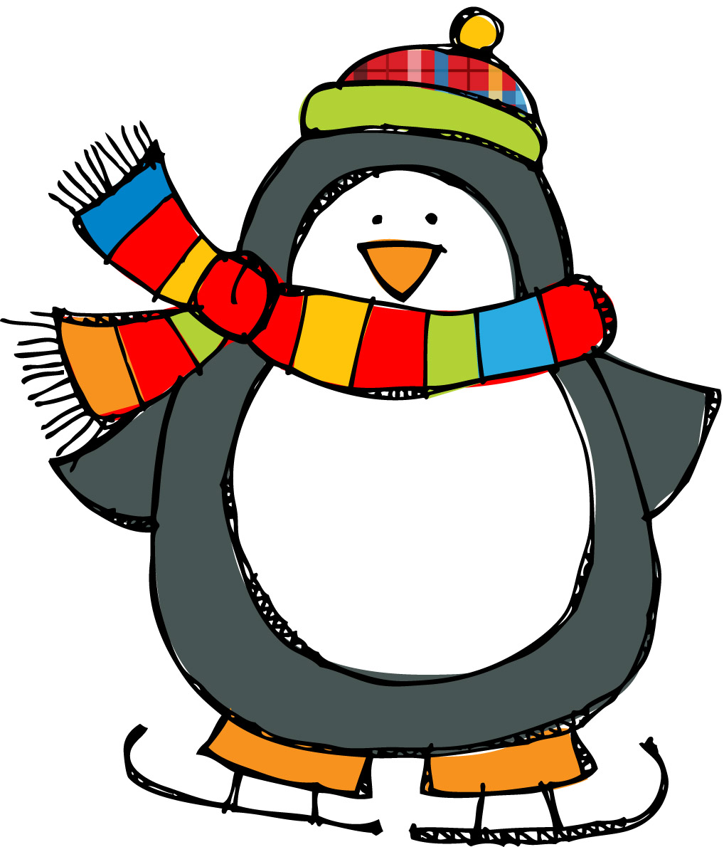 clipart panda winter - photo #3