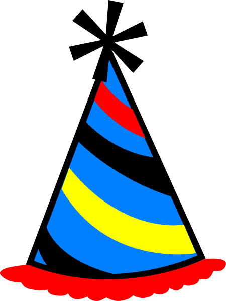 Party Hat Clip ... Free Clipart On The Web