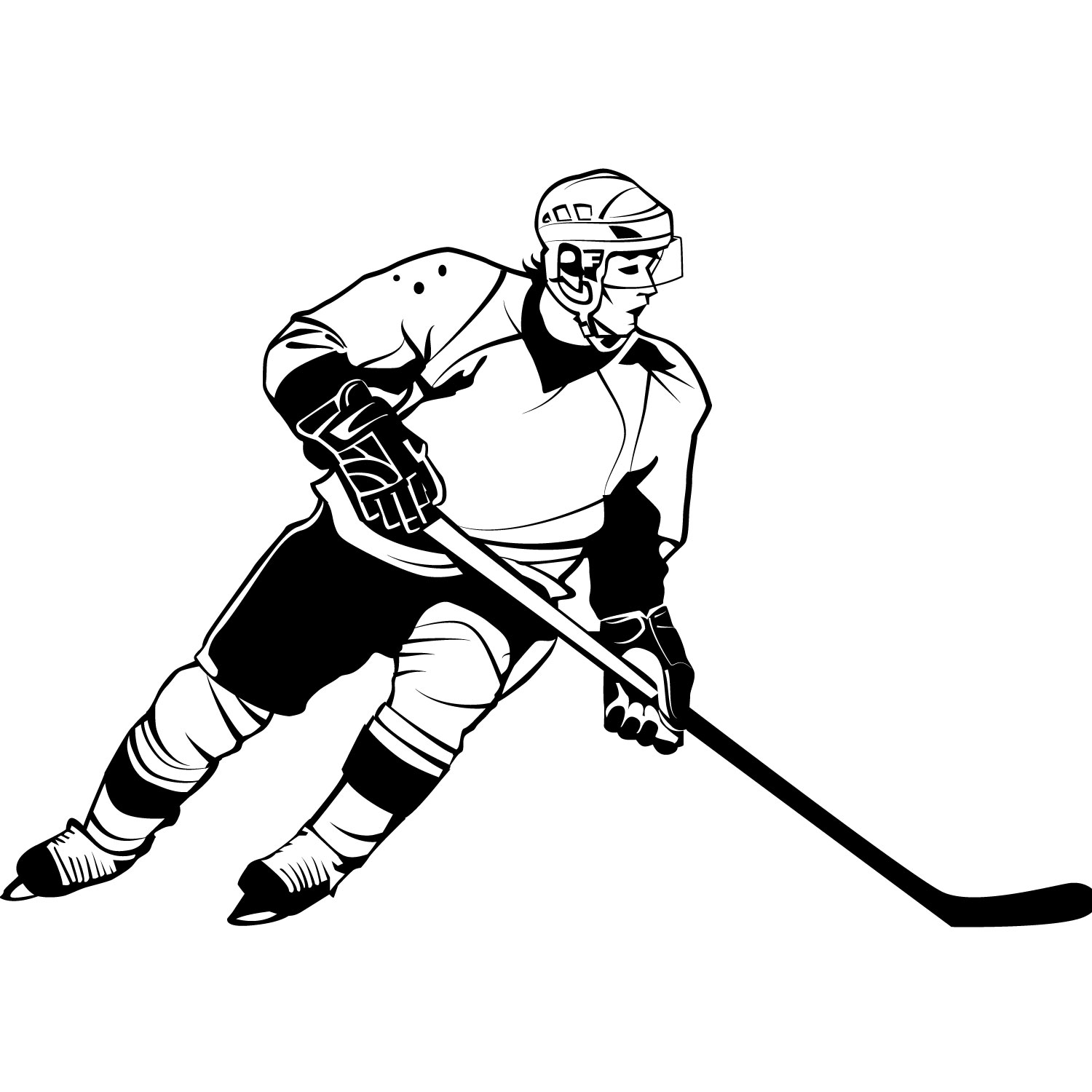 hockey player clipart cliparts co Ice Skating Cartoon Clip Art Vintage Ice Skating Clip Art