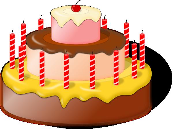 Birthday Cake Clip Art | clip art, clip art free, clip art borders ...