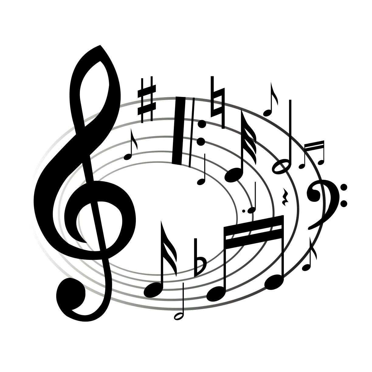 music emblems clipart - photo #2