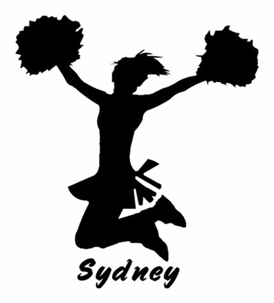 cheerleader clipart svg - photo #14